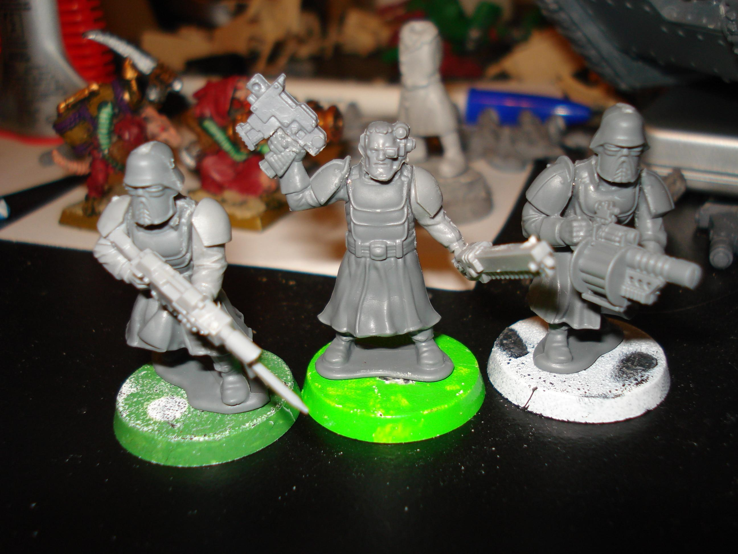 Imperial Guard, Shock Troops, Wargames Factory
