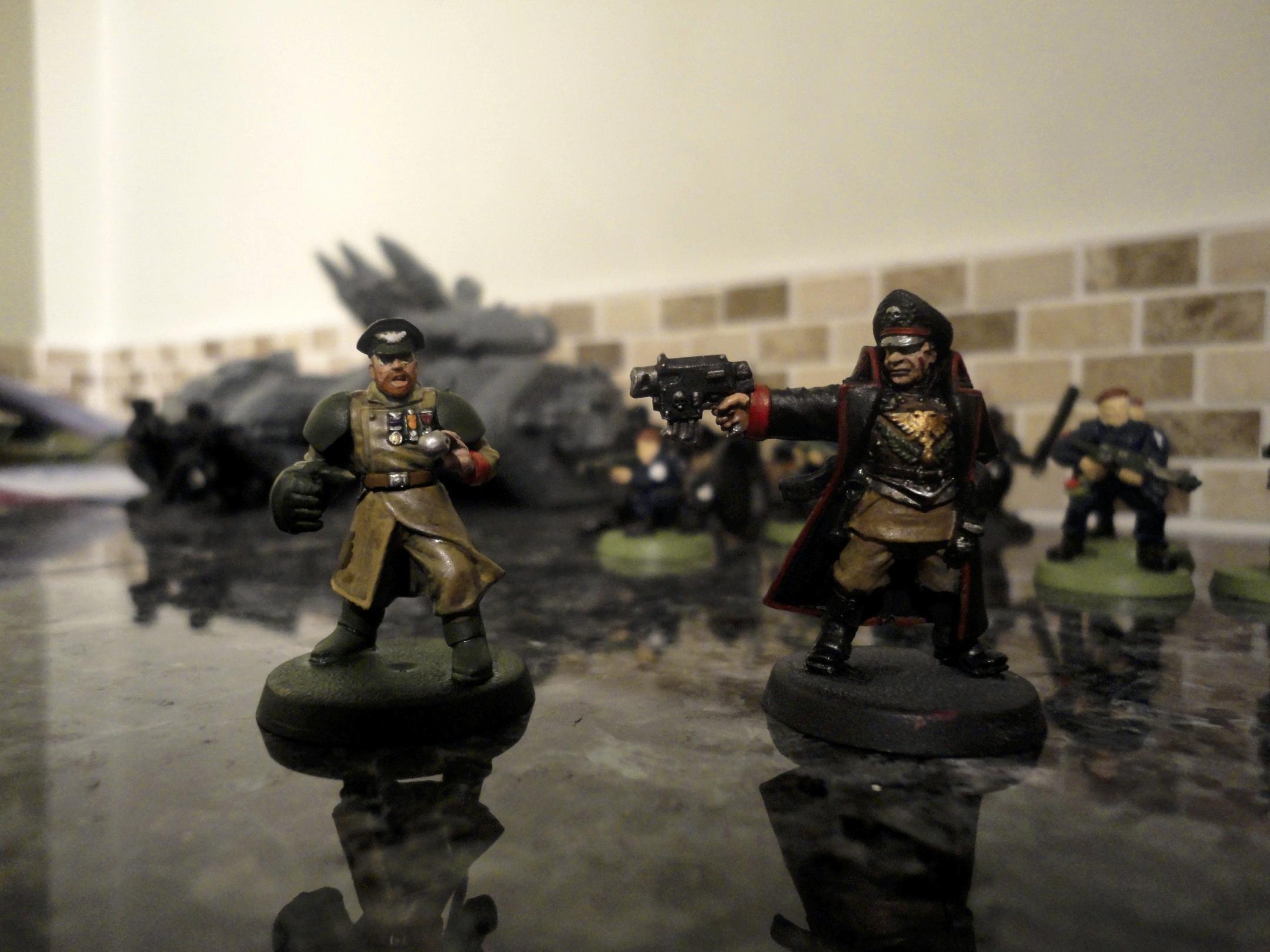 Commander, Commissar, Imperial Guard