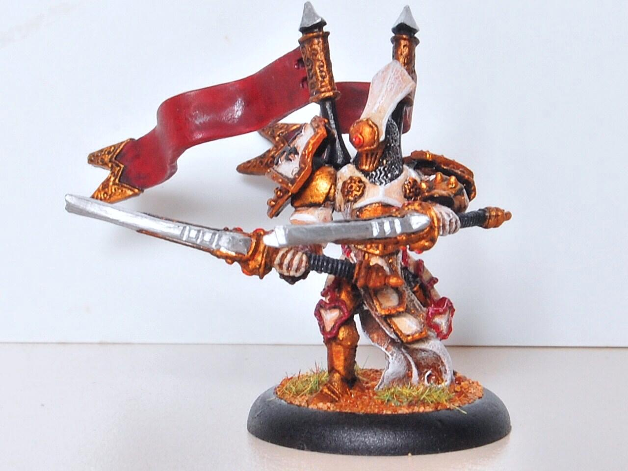 Hordes, Knight Exemplar, Pom, Protectorate Of Menoth, Senechal, Solo, Warmachine