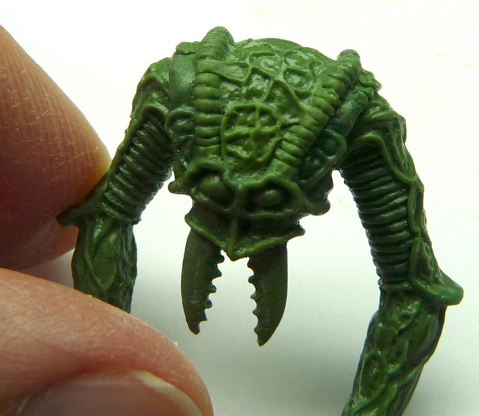 Alien, Ambull, Green Stuff Sculpt, Head