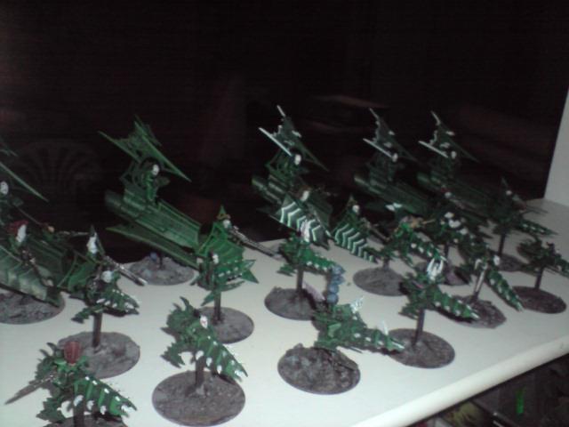 Dark Eldar, Reavers and Raiders etc