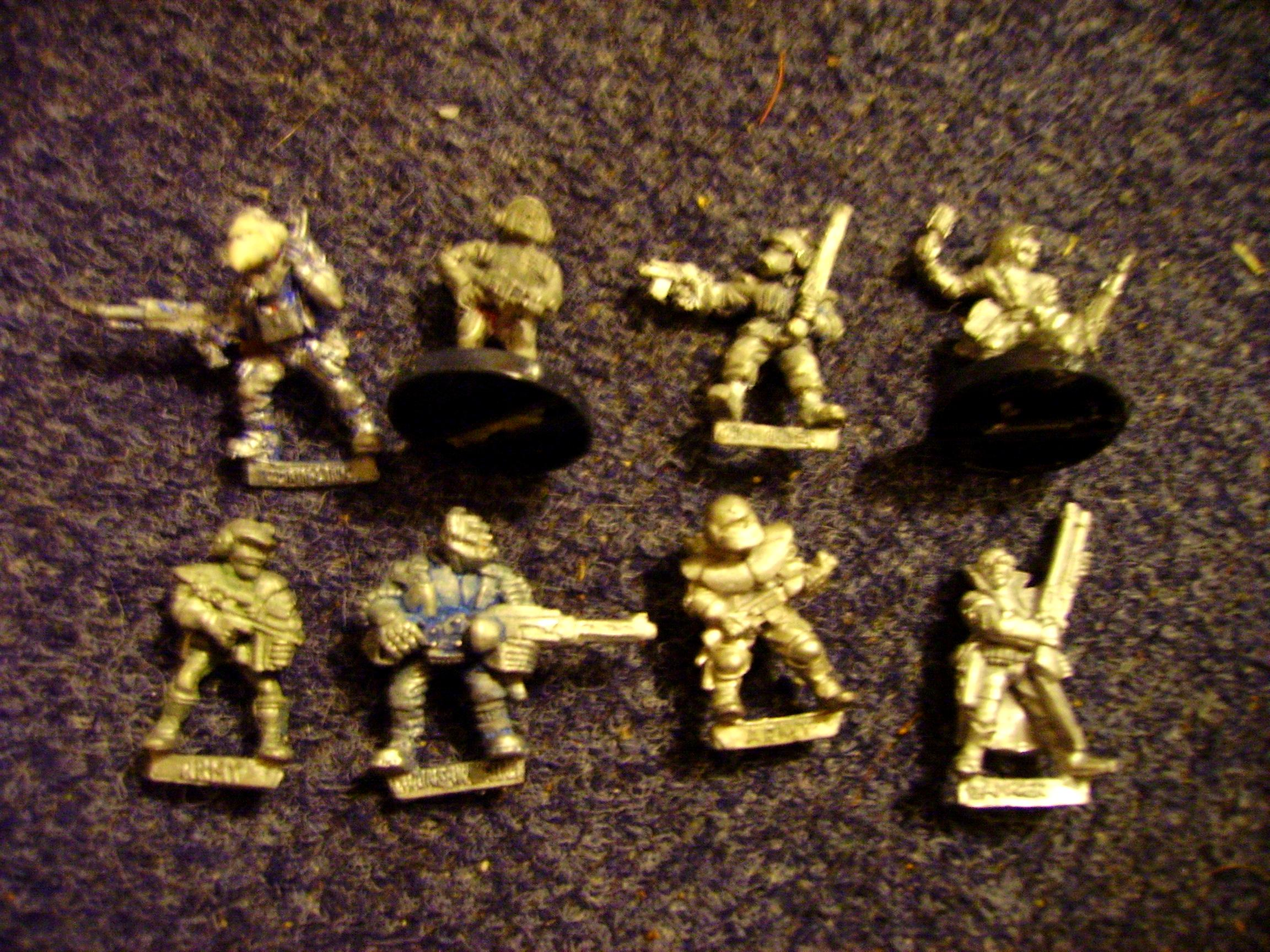Blurred Photo, Imperial Guard, Out Of Production, Rogue Trader