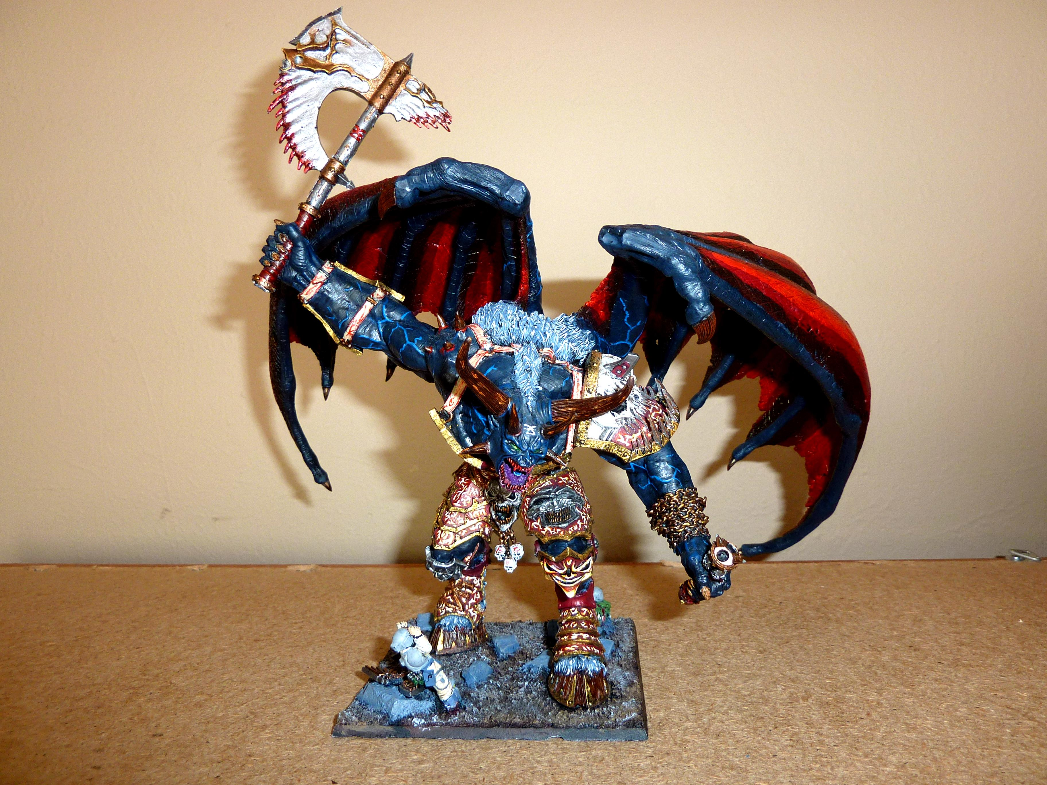 An'ggrath The Unbound, Bloodthirster, Chaos, Chaos Daemons, Daemons, Forge World, Gargantuan Creature, Khorne
