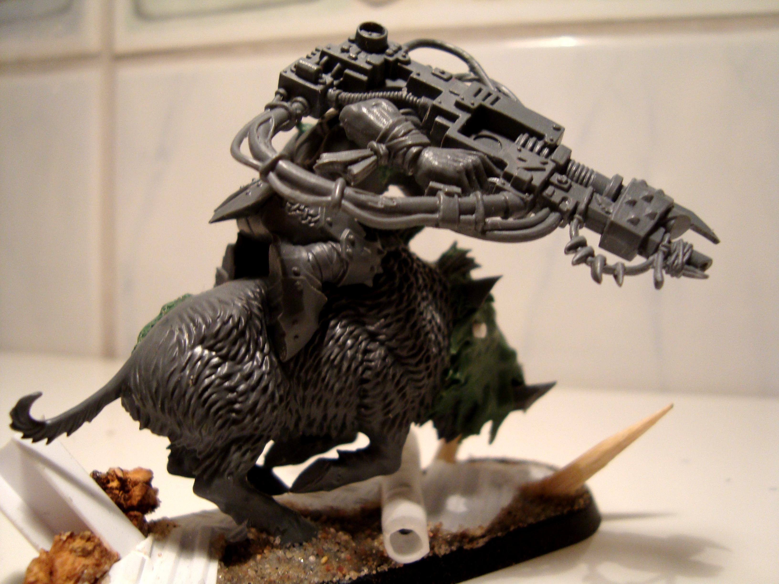 Boar, Conversion, Dakka Dakka, Kitbash, Lootas, Warhammer 40,000, Warhammer Fantasy