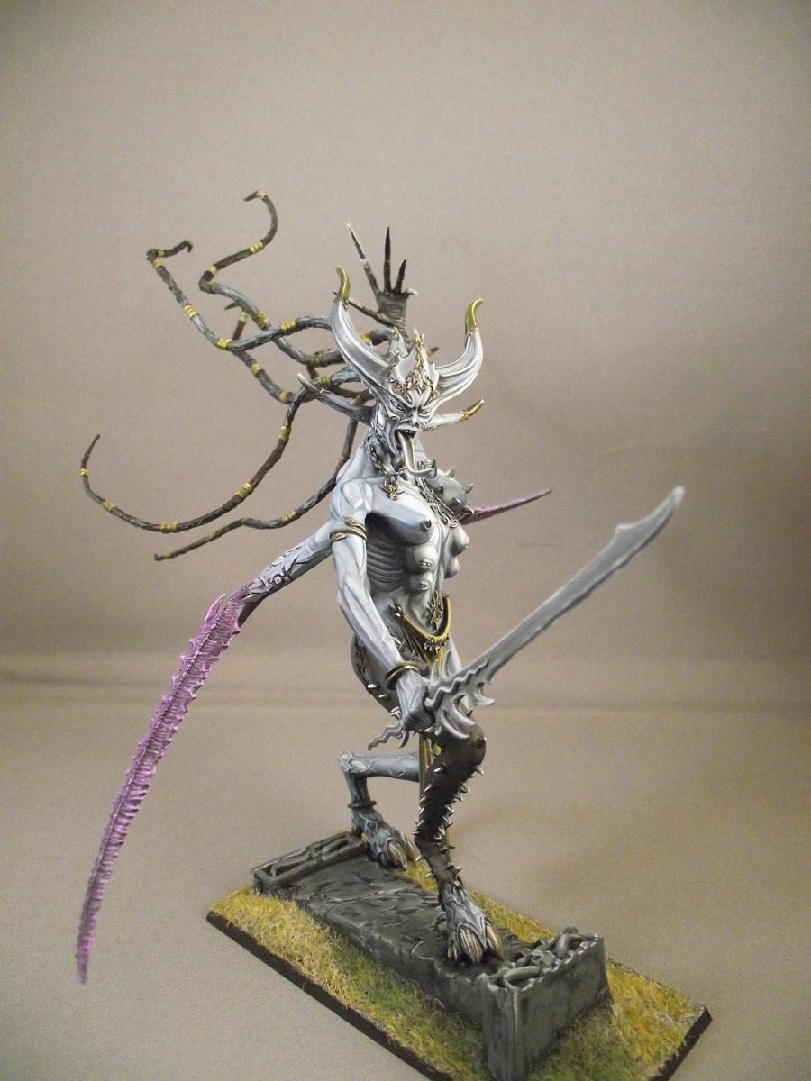 Chaos Daemons, Greater Deamon, Keeper Of Secrets, Slaanesh, Warhammer Fantasy
