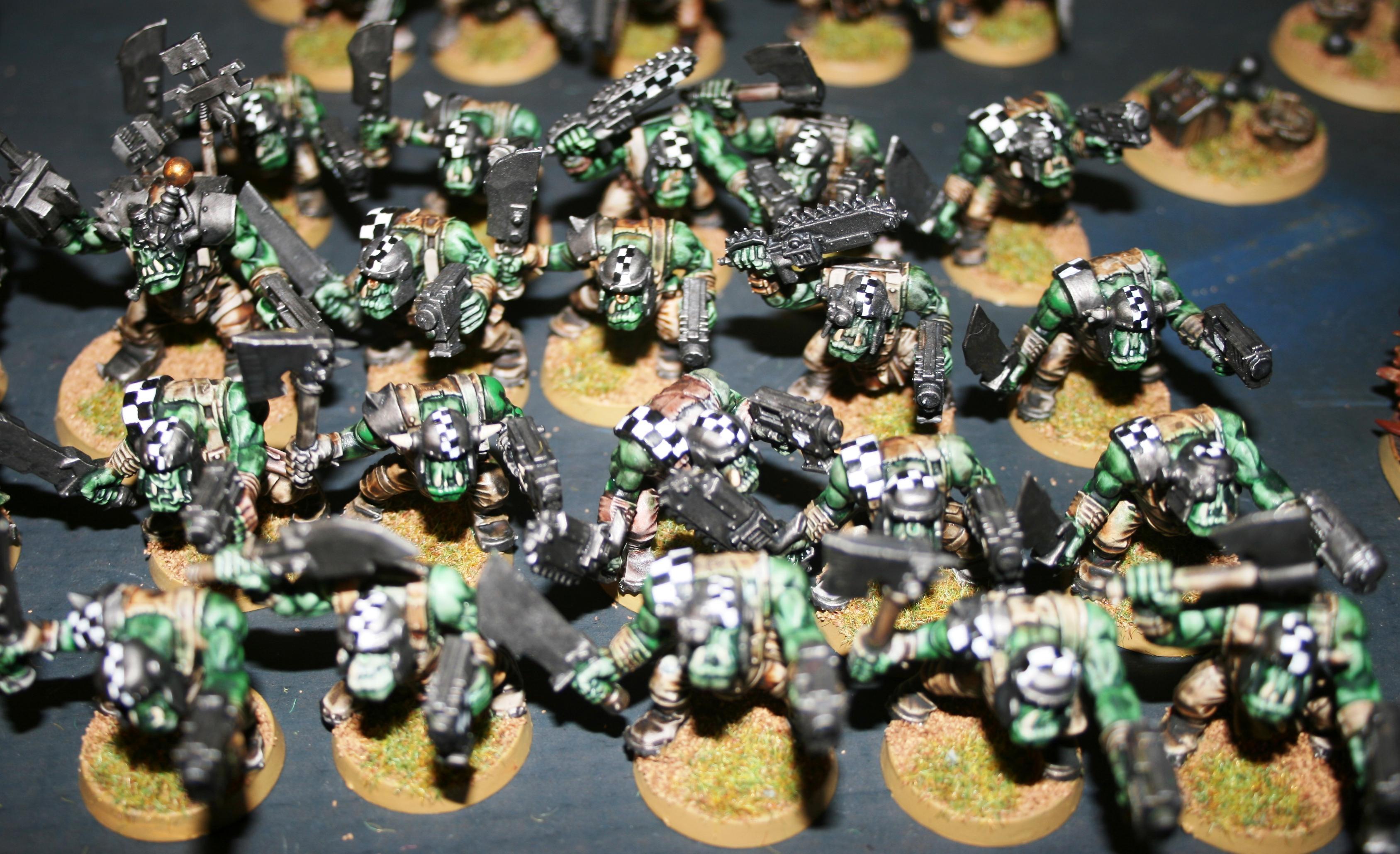 Boy, Green, Orks, Tide, Waagh, Warhammer 40,000, Warhammer Fantasy