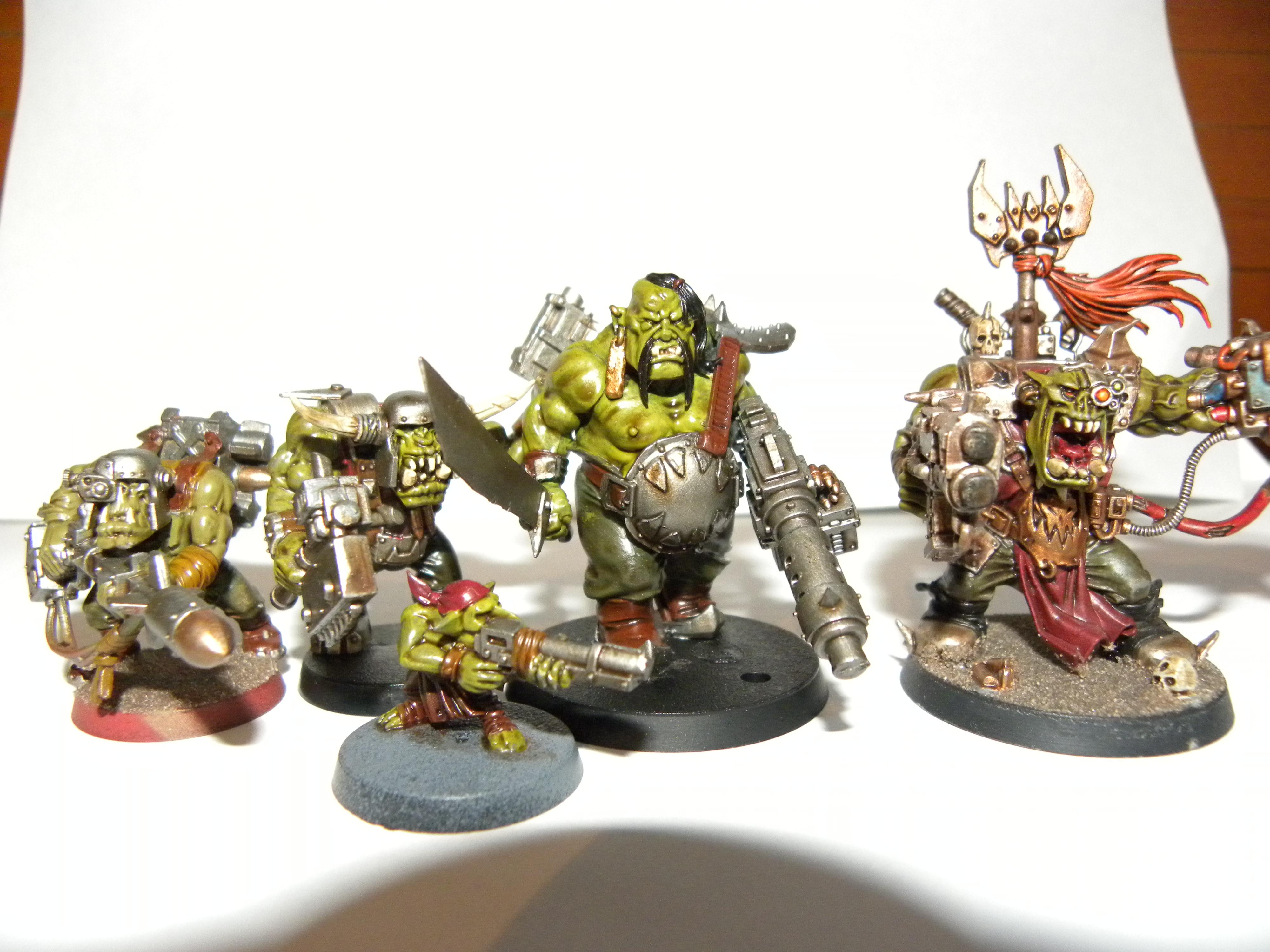 size comparison with other Orks