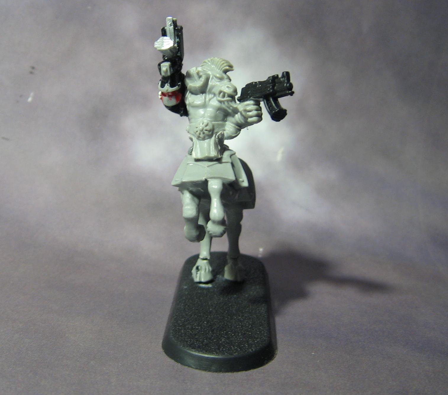 Beastmen, Centaur, Work In Progress