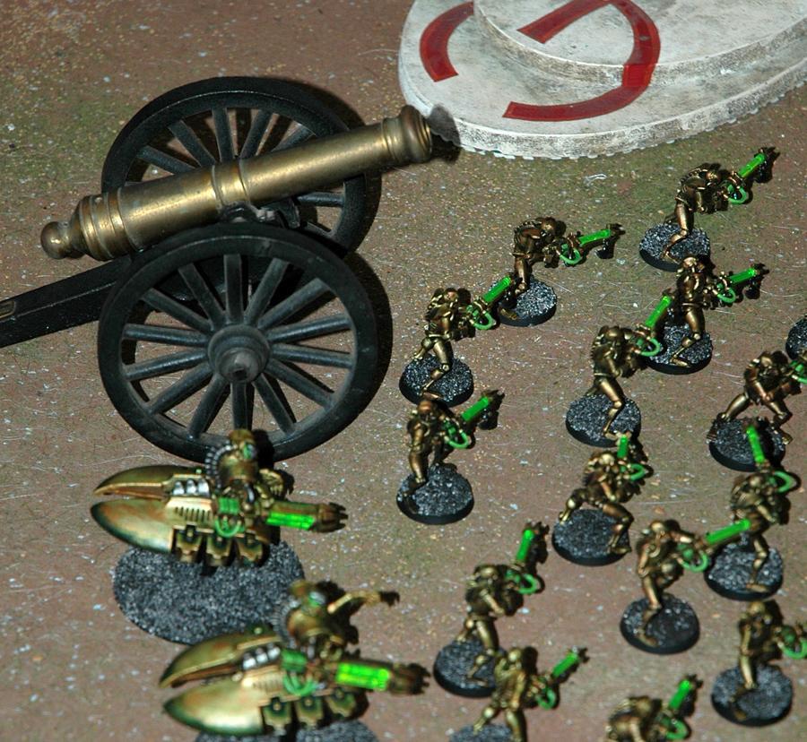 Necrons, Tarnished Brass, Warhammer 40,000