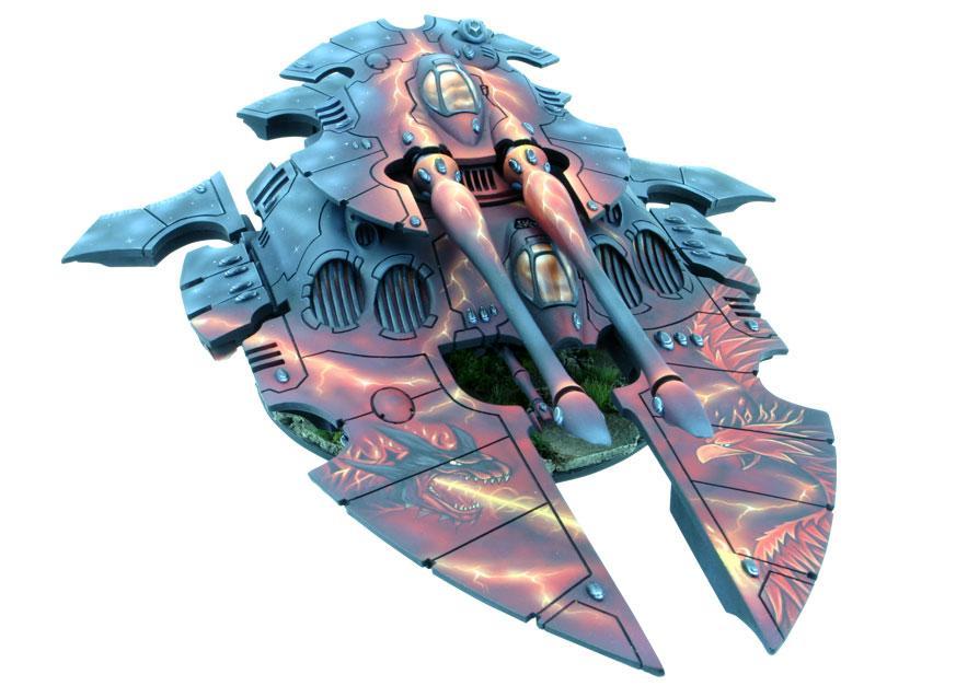 Eldar, Engine Of Vaul, Freehand, Scorpion, Super-heavy