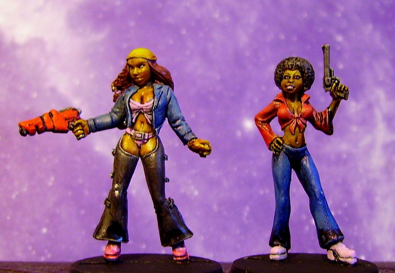 Female, Ganger, Necromunda, Reaper
