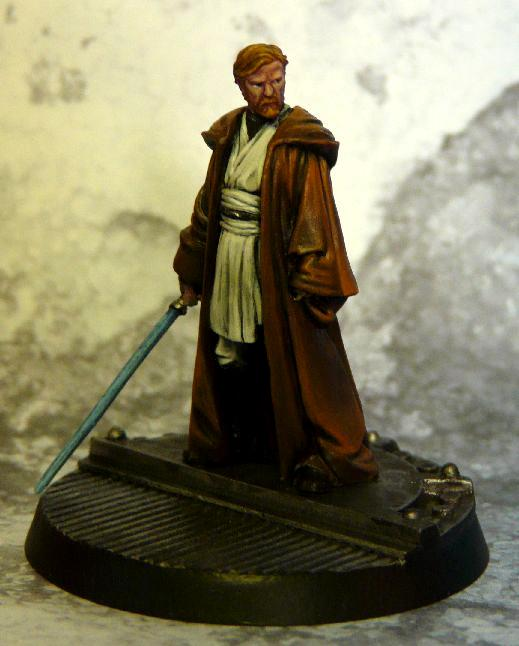 Jedi, Knight Models, Obi Won, Star Wars