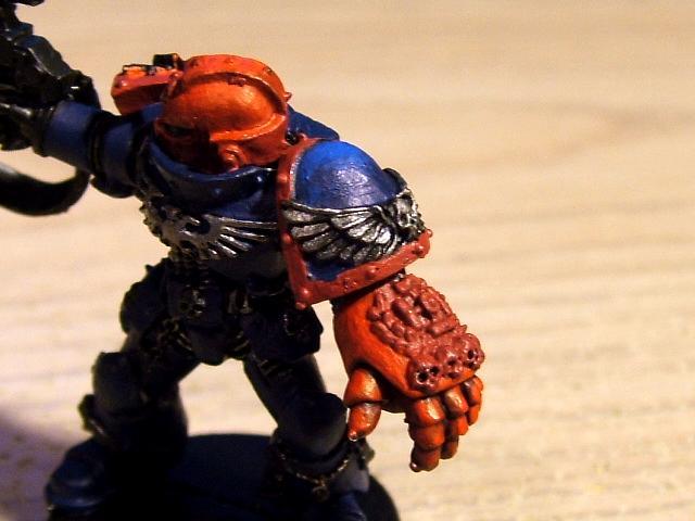 Crimson Fists Sternguard side