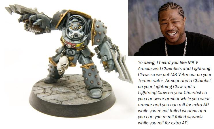 Based, Forge World, Games Worshop, Humor, Humour, Mkv, Painted, Space Sharks, Terminator Armor, Warhammer 40,000