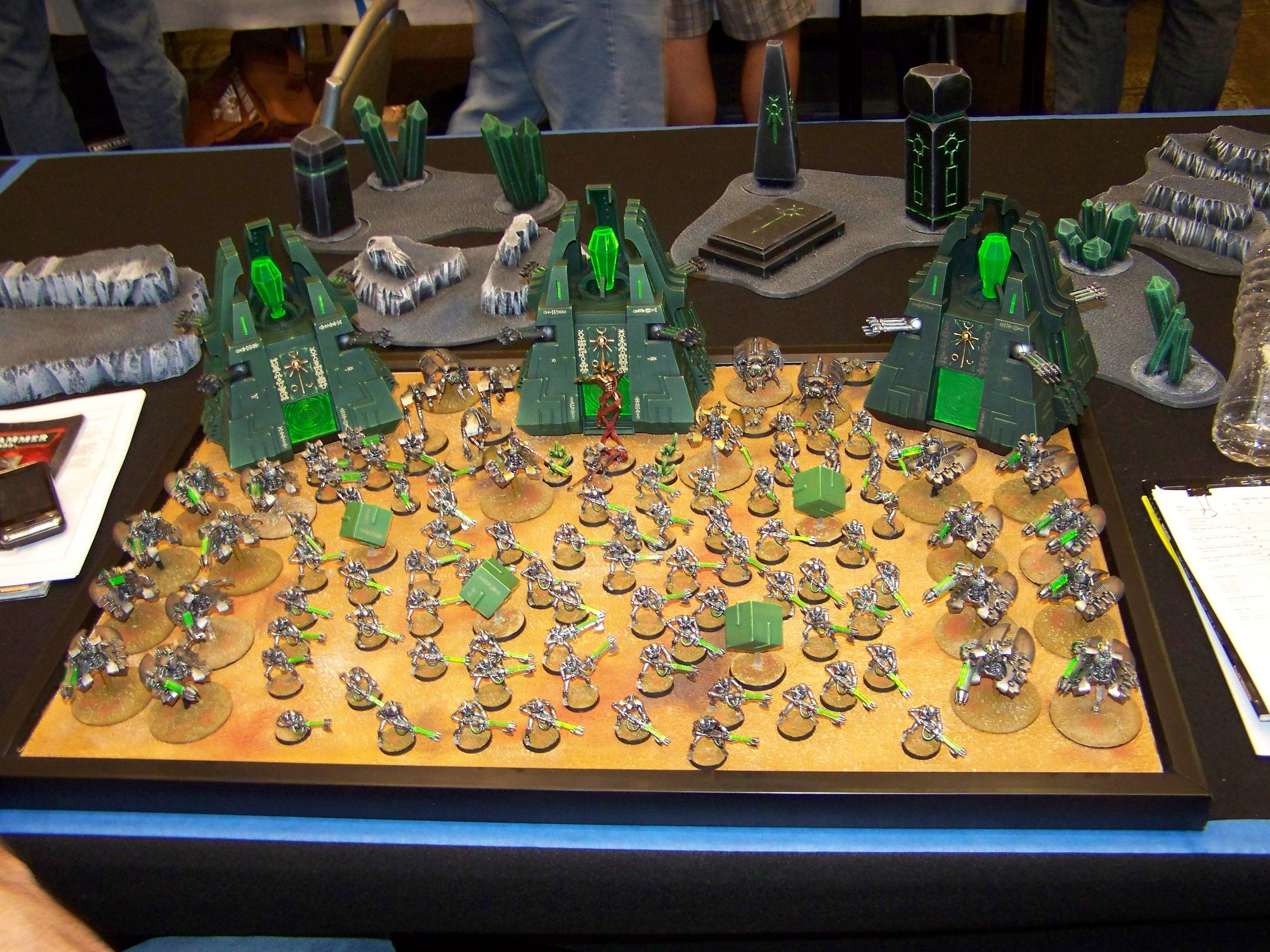 Adepticon 2010, Army, Destroyer, Monoliths, Necrons, Tomb Spyders, Warriors, Wraiths