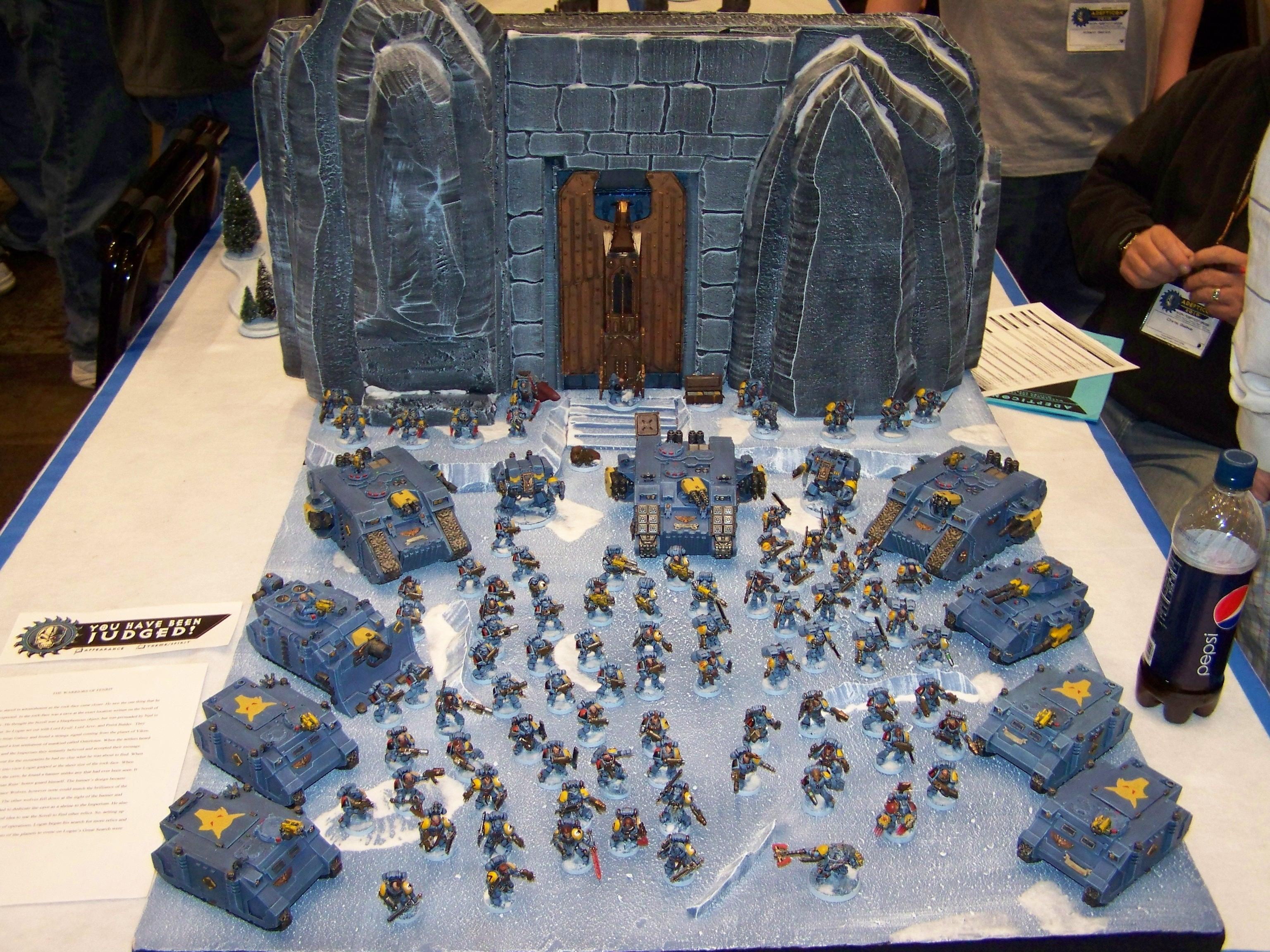 Adepticon 2010, Space Wolves