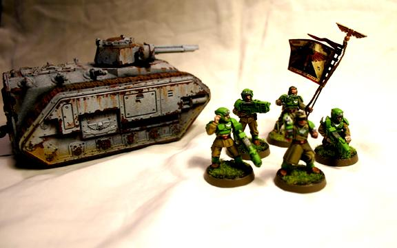 Cadians, Chimera, Imperial Guard