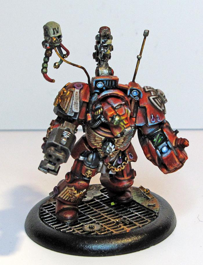 Object Source Lighting, Space Hulk, Tech Marine, Tech Priest, Terminator Armor