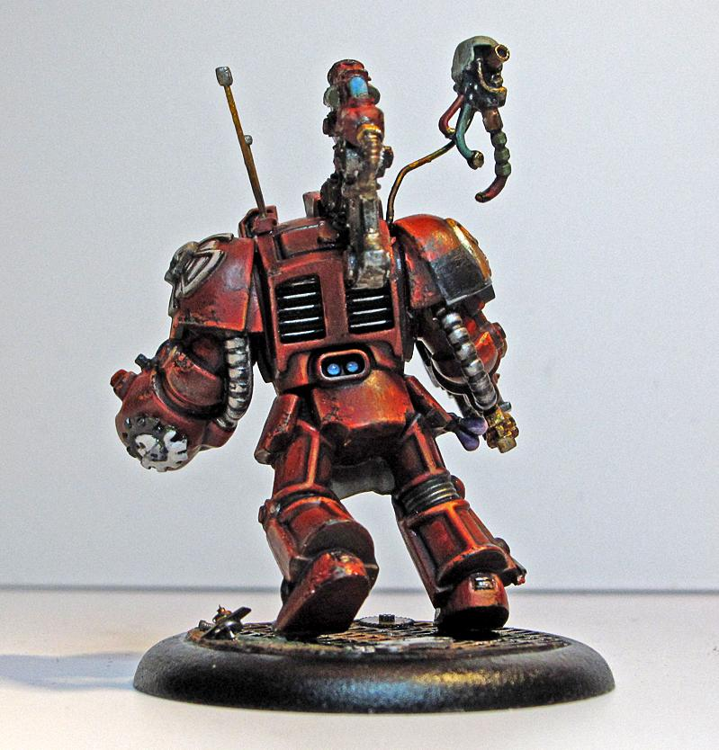 Object Source Lighting, Space Hulk, Tech Marine, Tech Priest, Terminator Armor