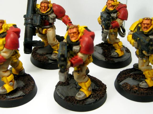 Howling Griffons, Space Marines, Work In Progress