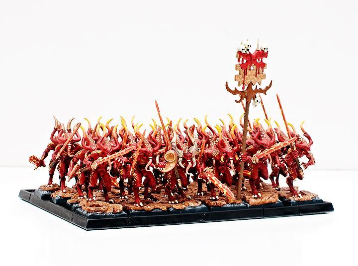 Bloodletters, Daemons, Khorne, Warhammer Fantasy