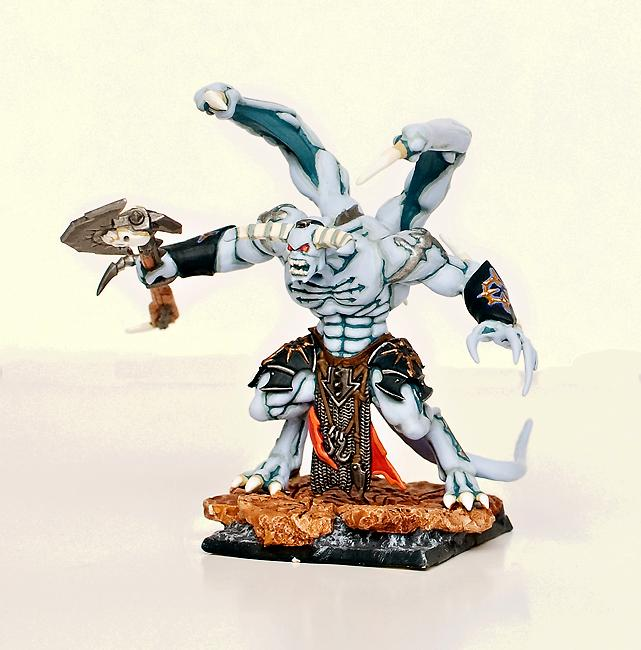 Daemon Prince, Daemons, Keeper Of Secrets, Warhammer Fantasy