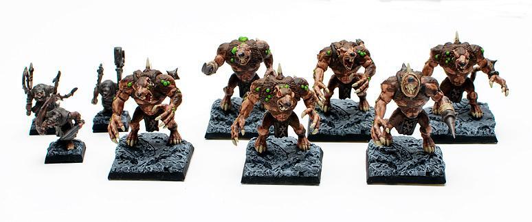 Rat Ogres, Skaven, Warhammer Fantasy
