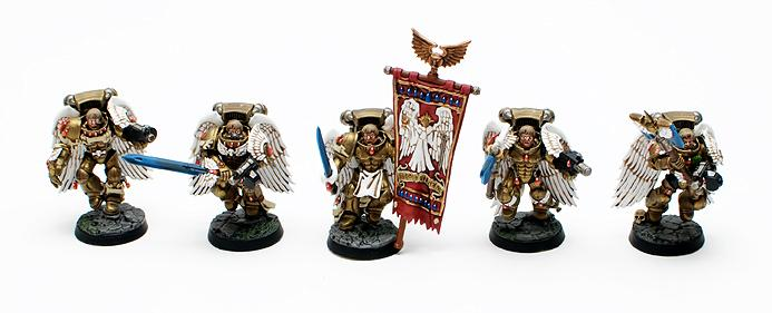 Blood Angels, Sanguinary Guard, Warhammer 40,000
