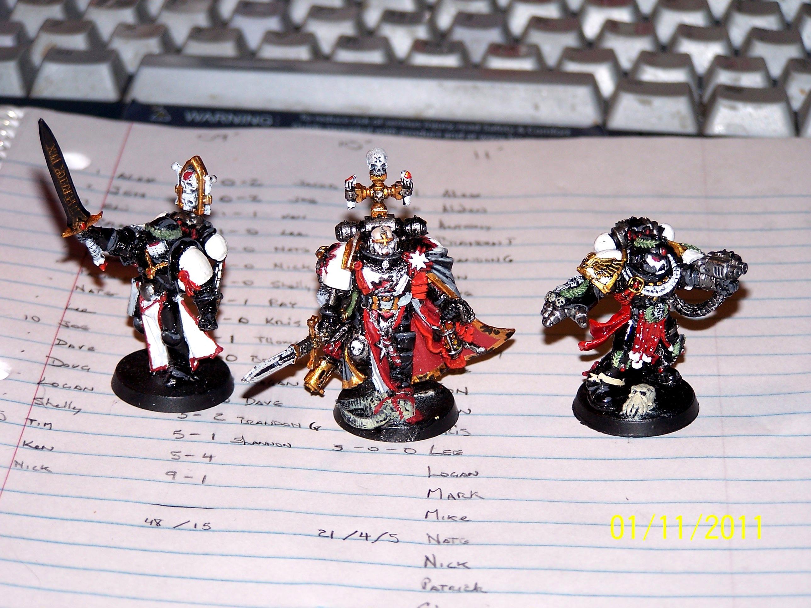 Black Templars, Emperor's Champion, Helbrecht, Space Marines