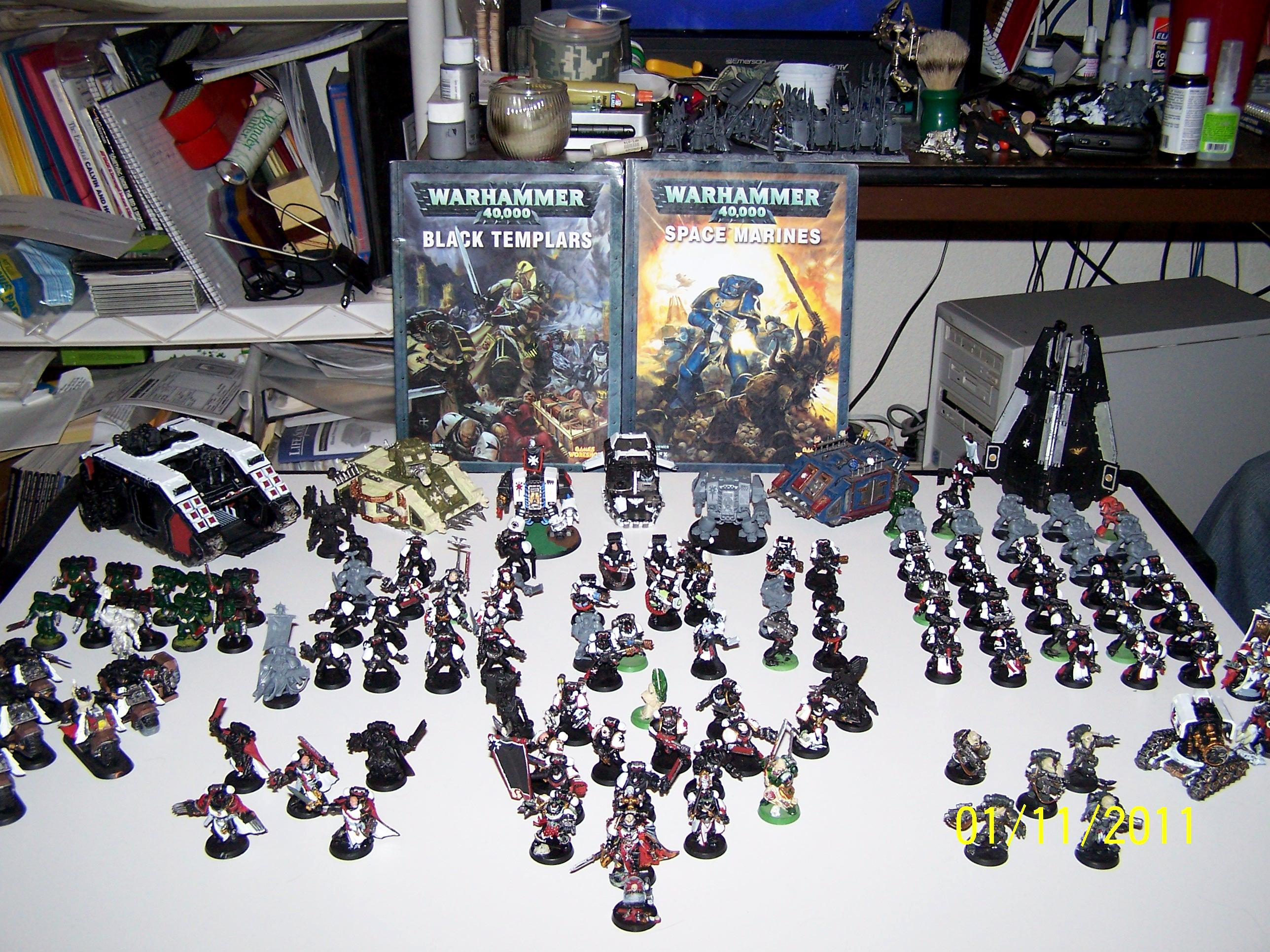 Black Templars, Space Marines