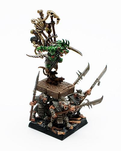 Skaven, Warhammer Fantasy, Warlitter, Warlord