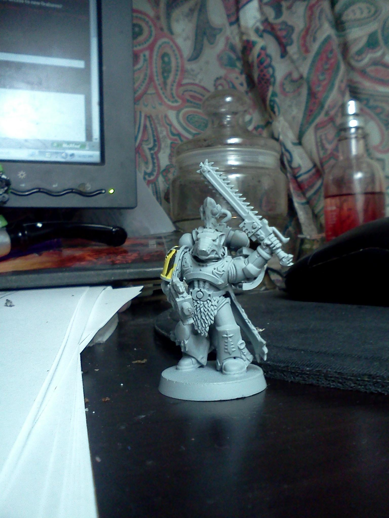 Lone Wolf, Space Wolves