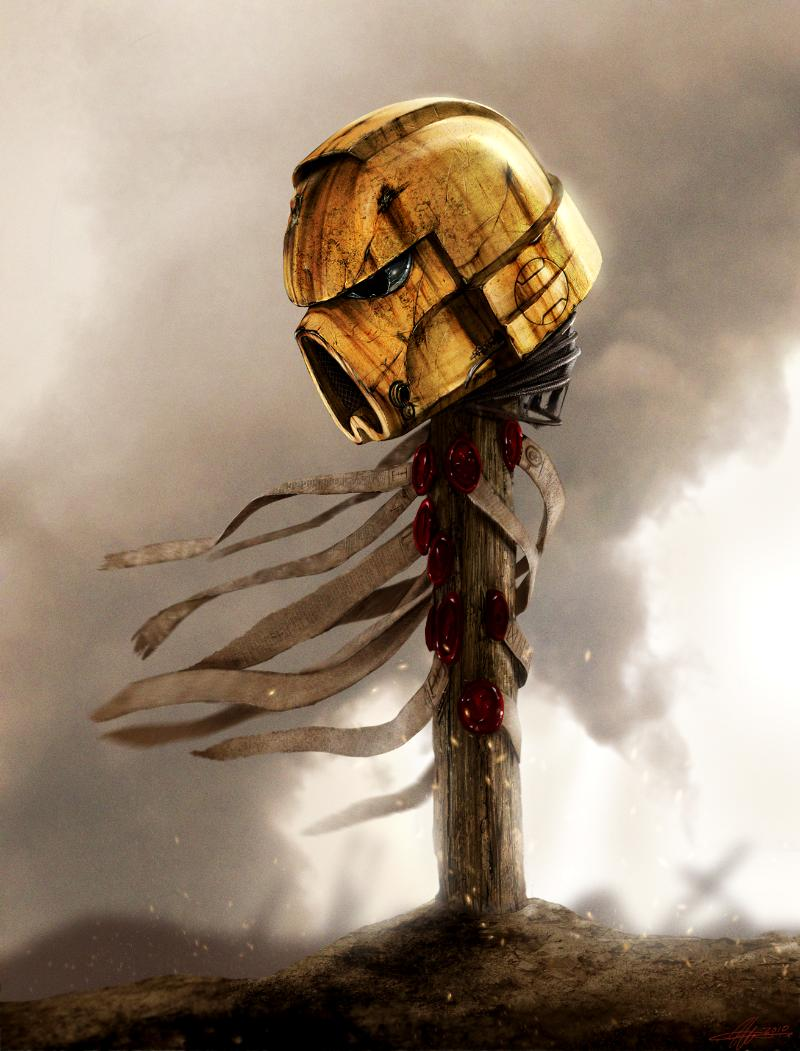 Dead Marine, Imperial Fists, Lost, Space Marines, Warhammer 40,000