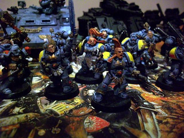 Blood Claws, Space Marines, Space Wolves, Sw