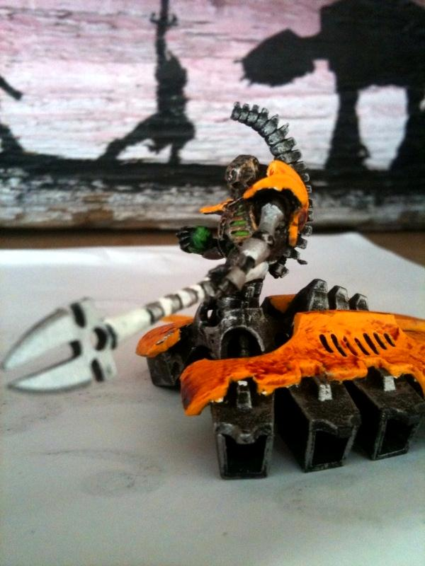 Destroyer, Headquarters, Lord, Metal, Necrons, Yellow