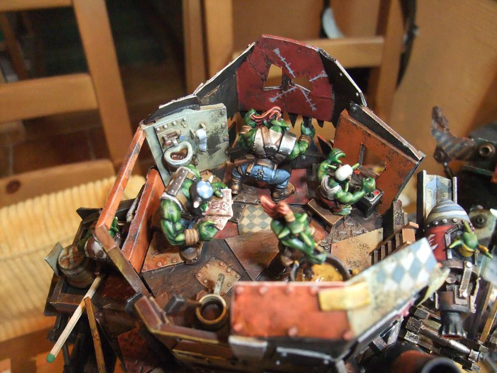 Crew, Interior Detail, Orks, Orky, Stompa, Toilet
