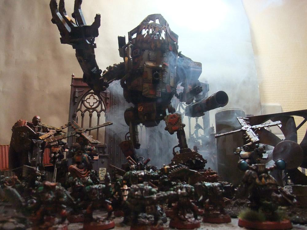 Dramatic, Orks, Stompa, Warhammer 40,000