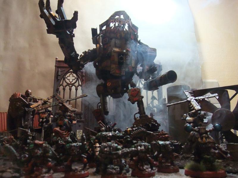 Dramatic, Orks, Stompa, Warhammer 40,000