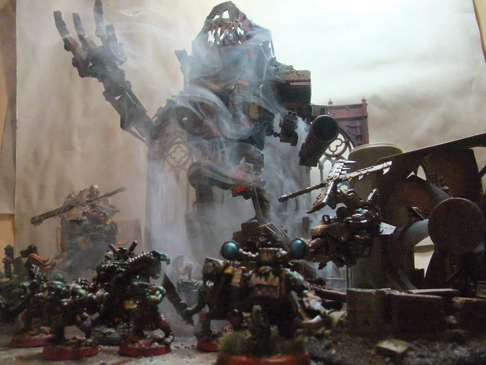 Awesome, Orks, Stompa, Warhammer 40,000