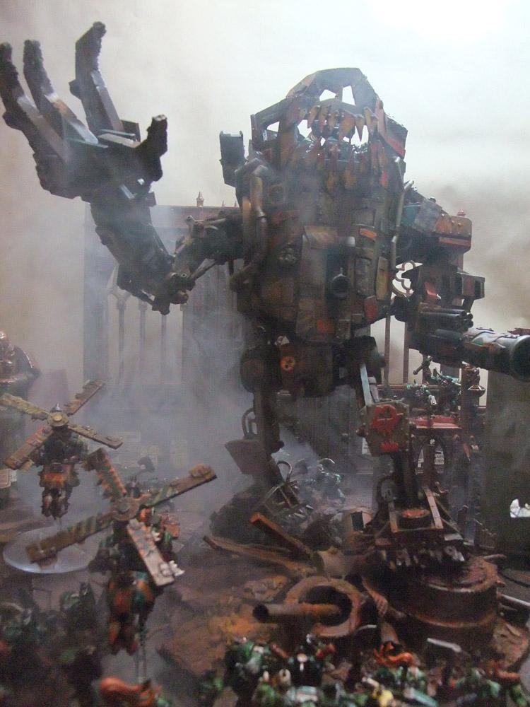 Conversion, Orks, Stompa, Warhammer 40,000