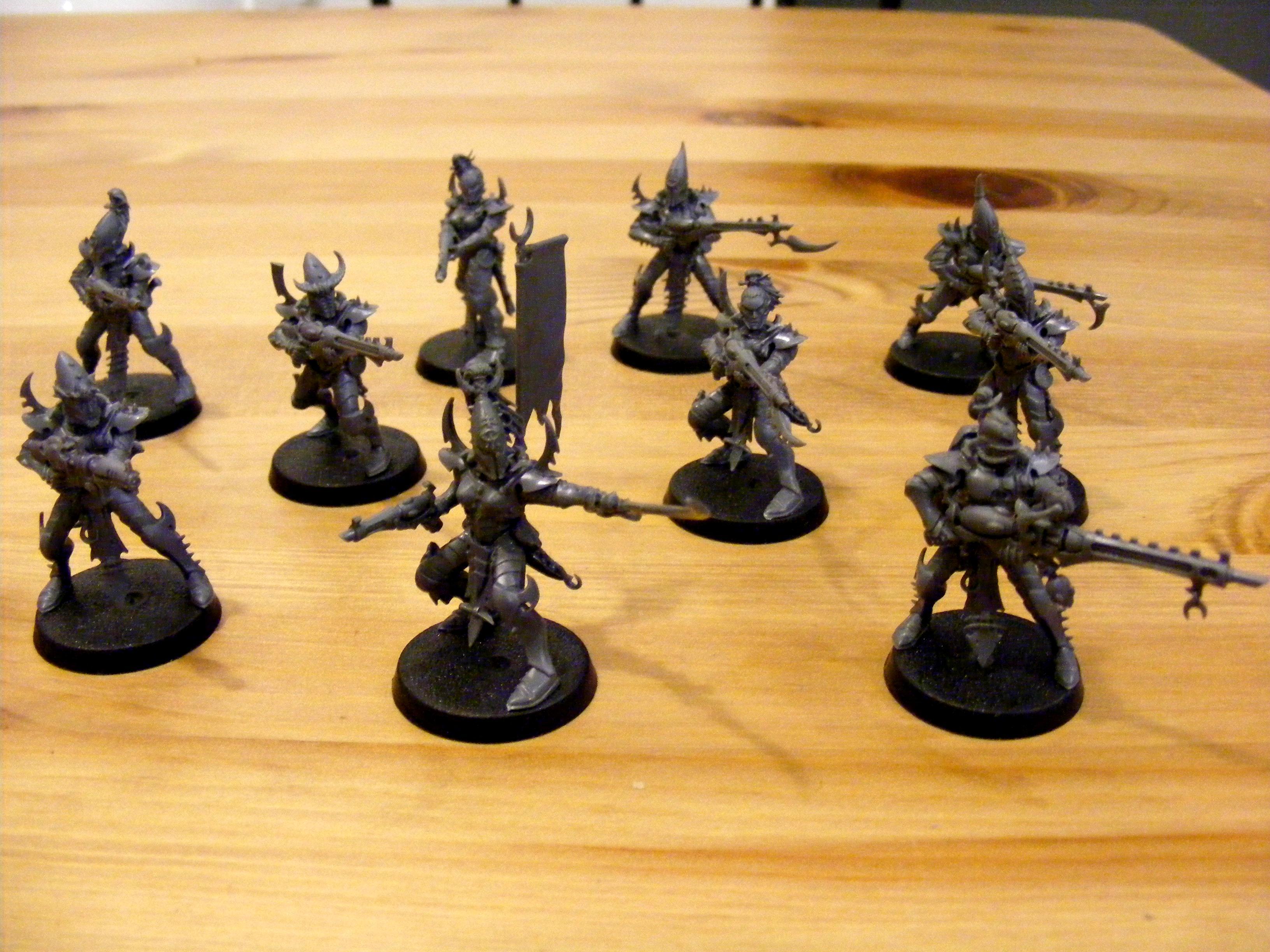 Dark Eldar, Warrior Squad - Unpainted