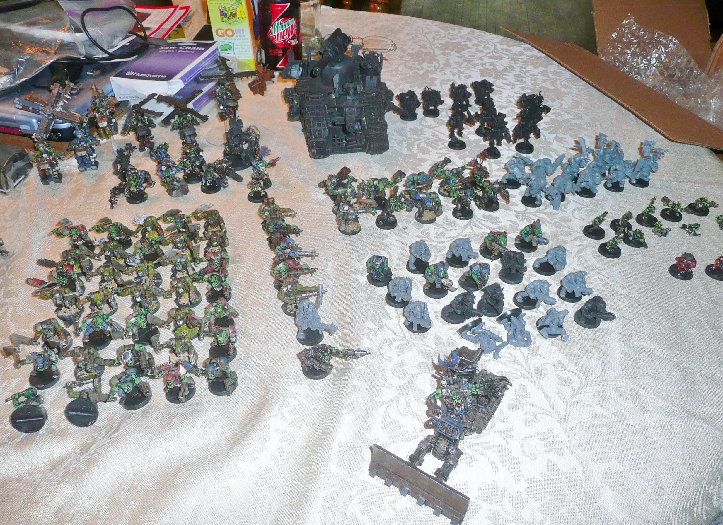 Orks, My best find on ebay, all this for $169