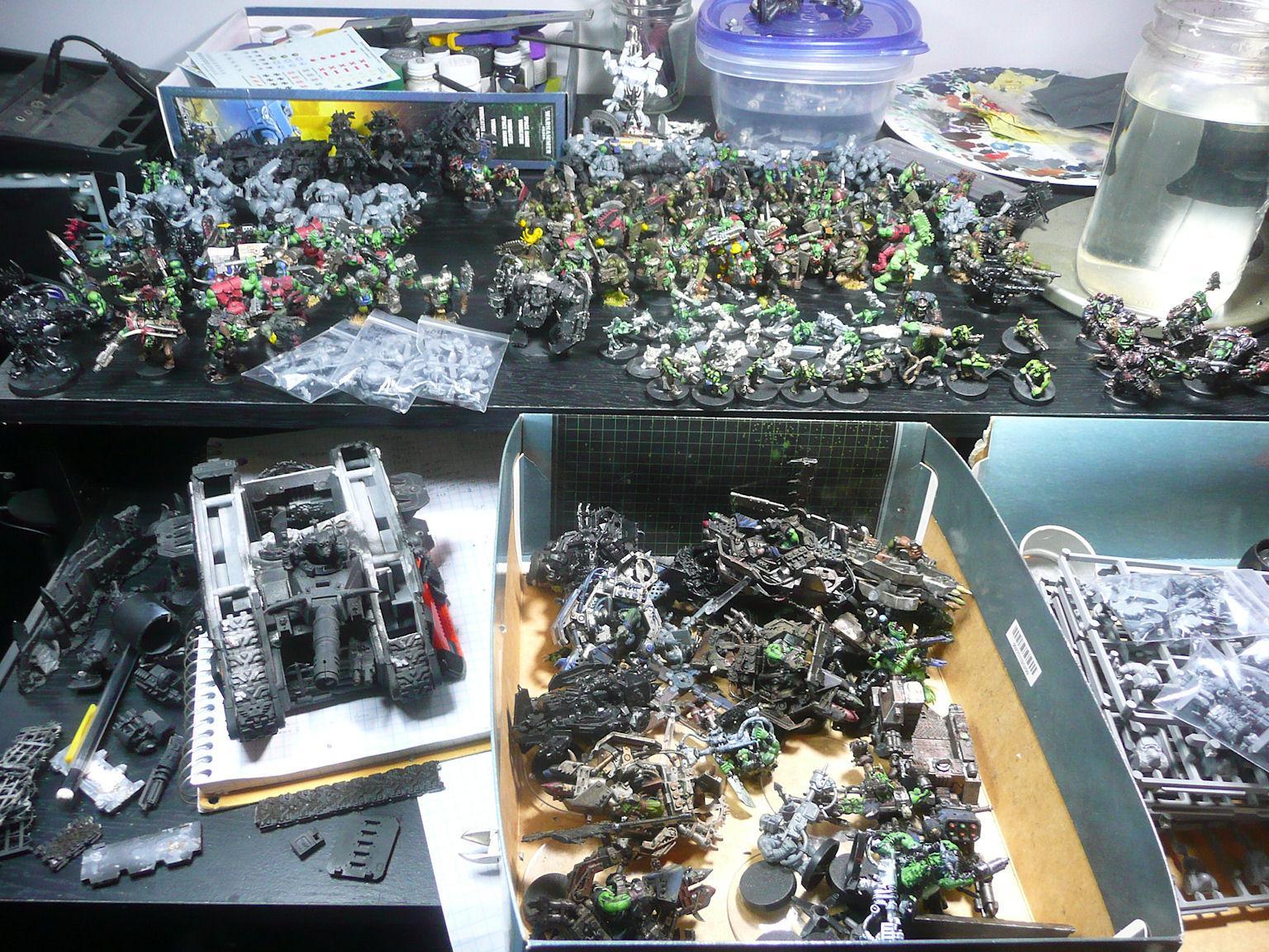 Orks, All my ebay orks together, $389 (~$751msrp)