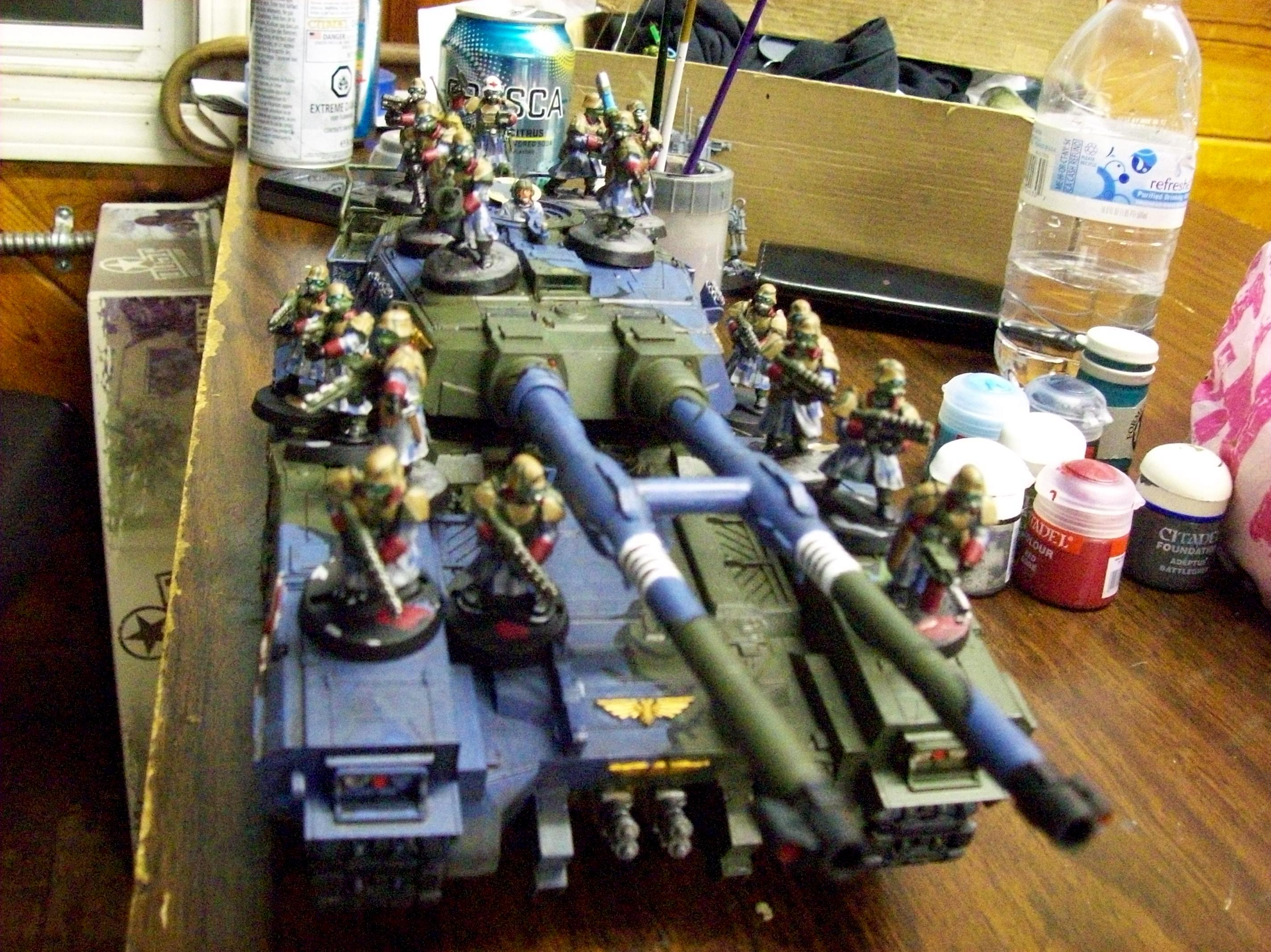 Greatcoat, Imperial Guard, Super-heavy, Tank, Wargames Factory