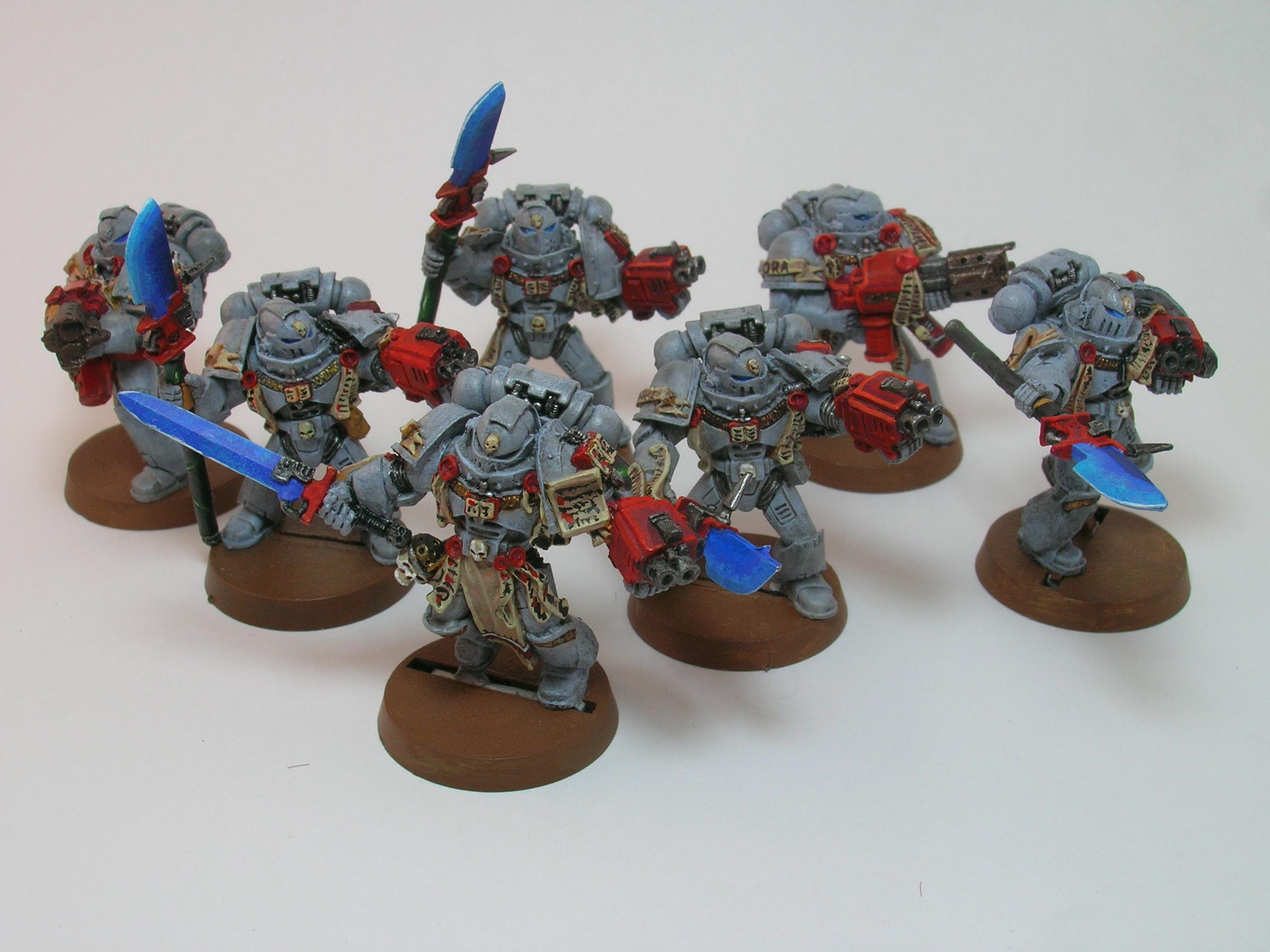 Grey Knights, Painted Around 2009 To Current, Space Marines, Warhammer 40,000