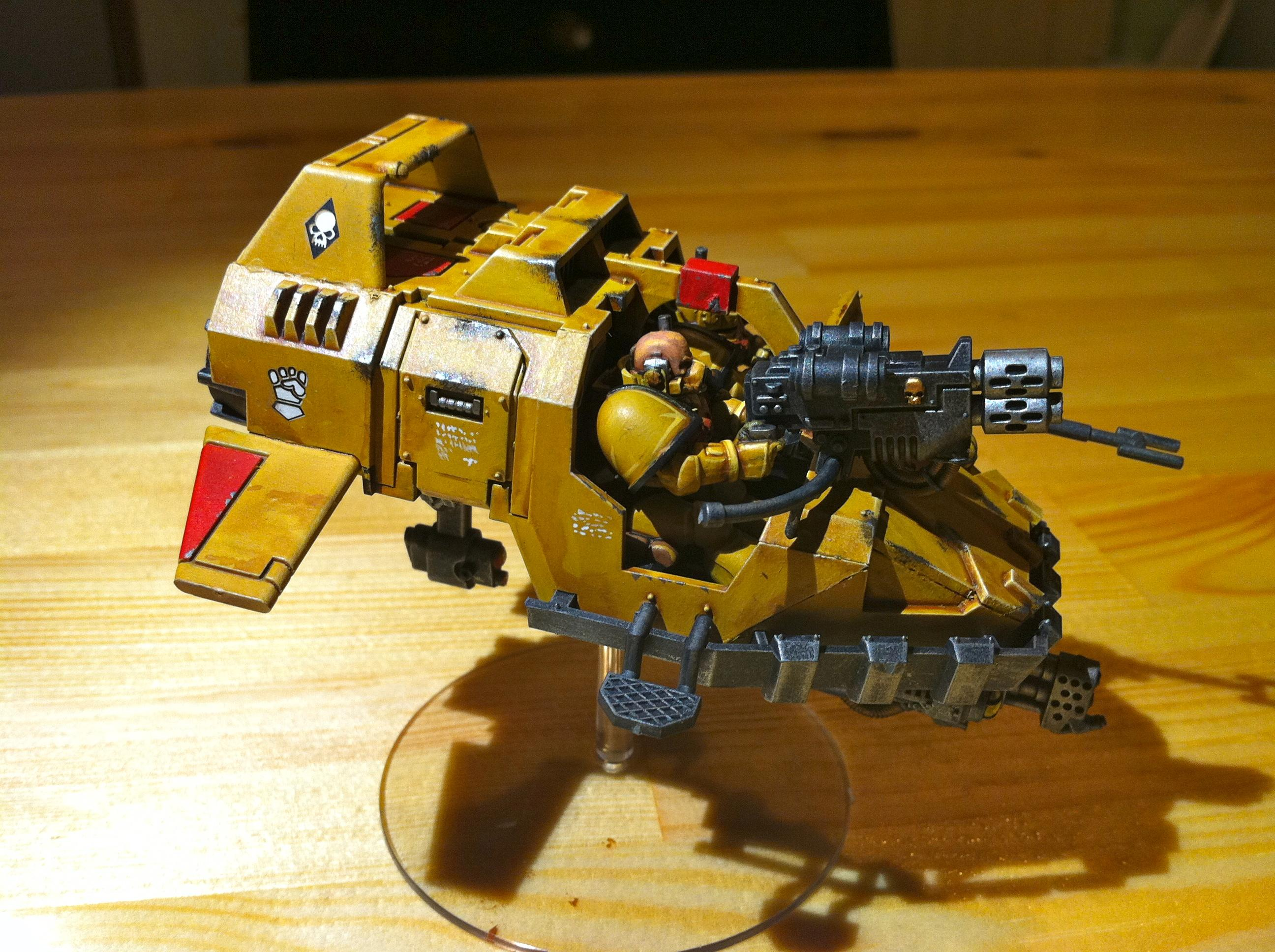 Aircraft, Imperial Fists, Land Speeder, Space Marines, Tornado