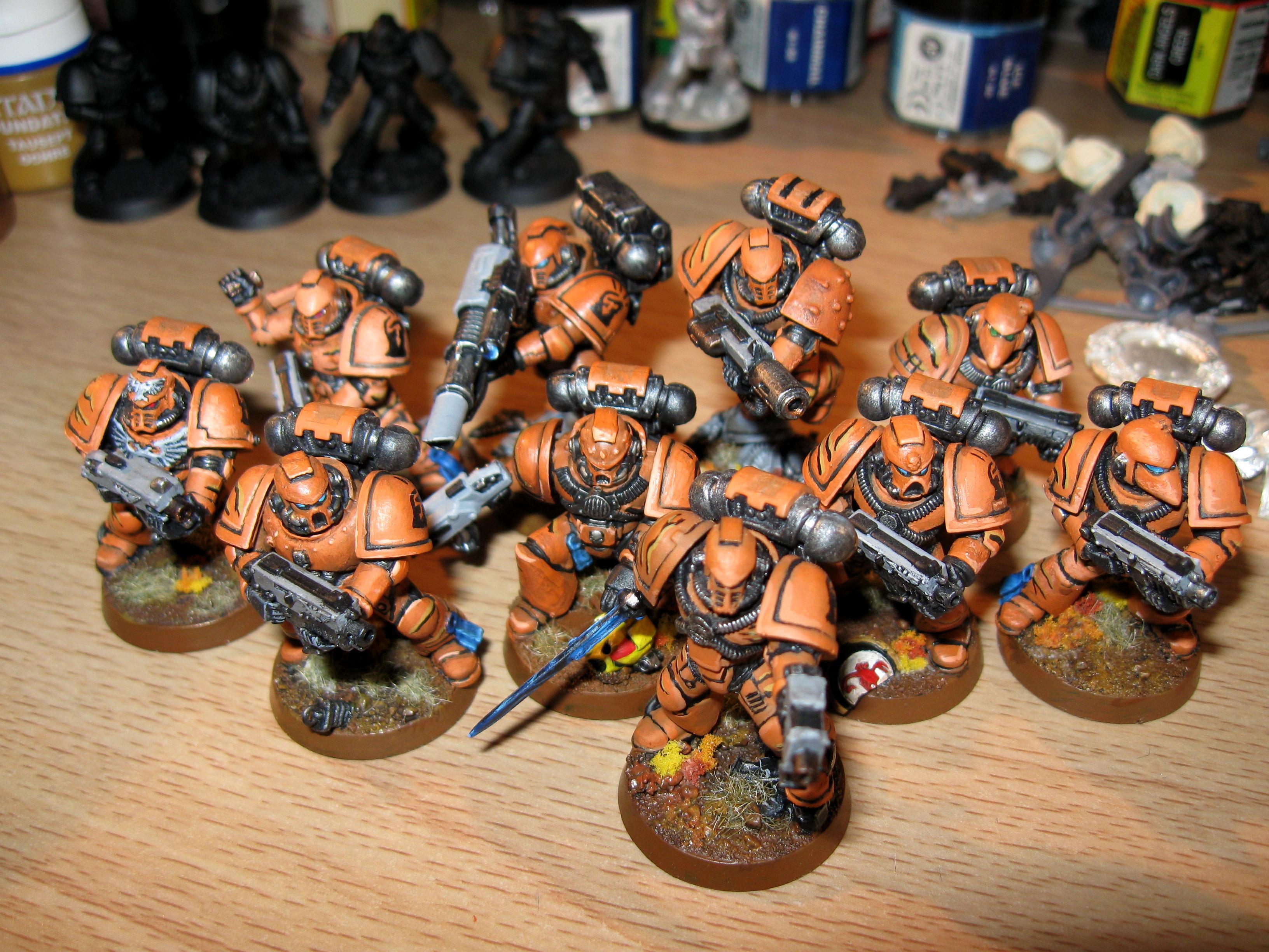 Astral Claw, Badab War, Fire Hawk, Space Marines, Tactical Squad, Tiger Claws, Warhammer 40,000