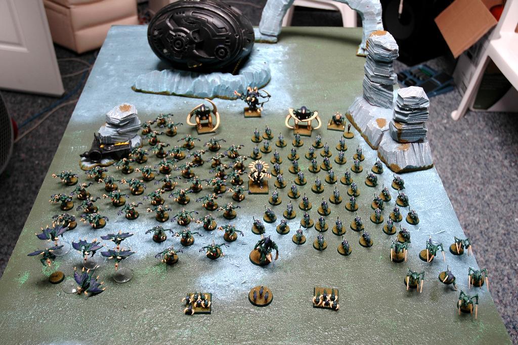 Board, Game Table, Terrain, Tyranids
