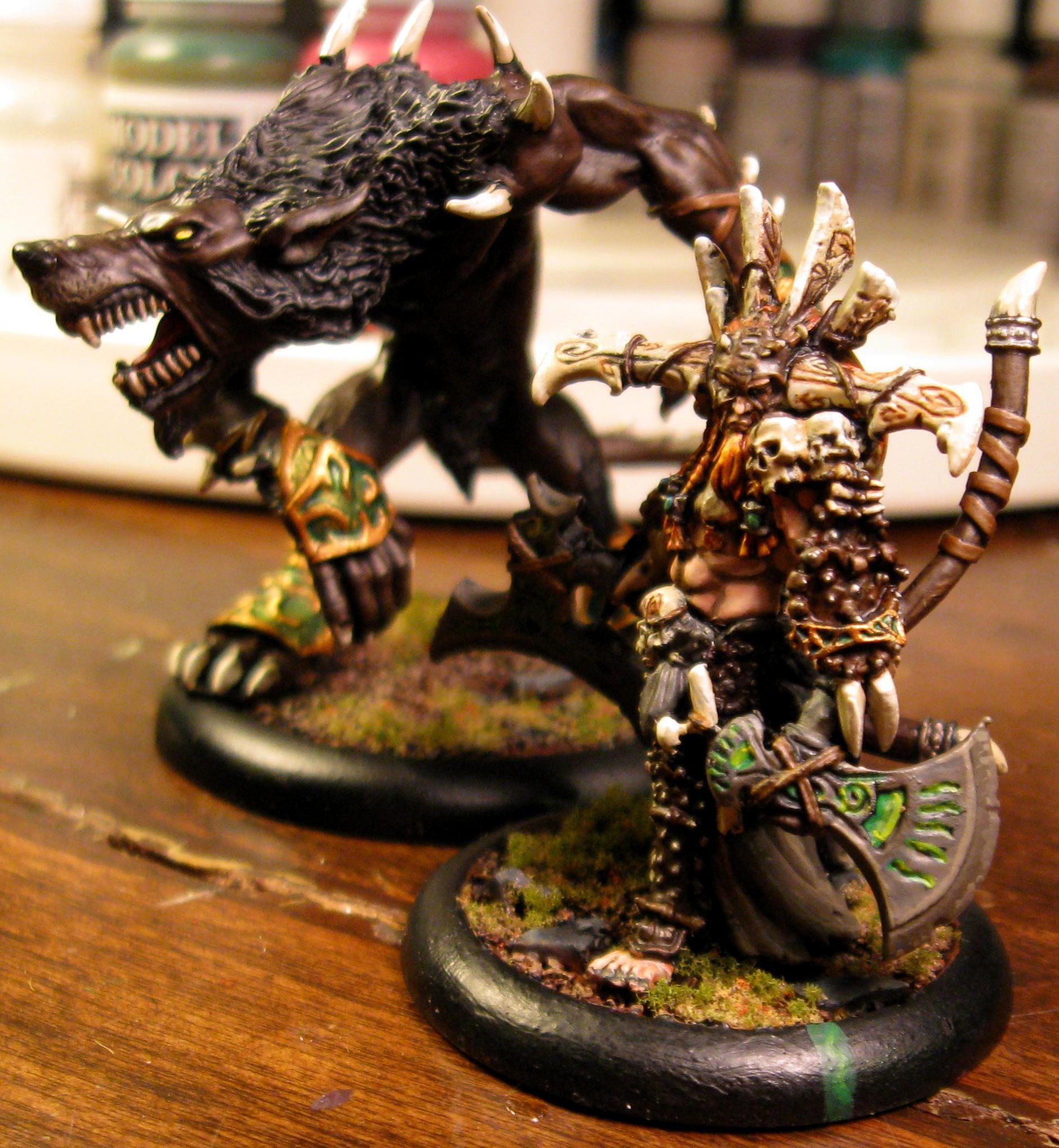 Warpwolf and Kromac