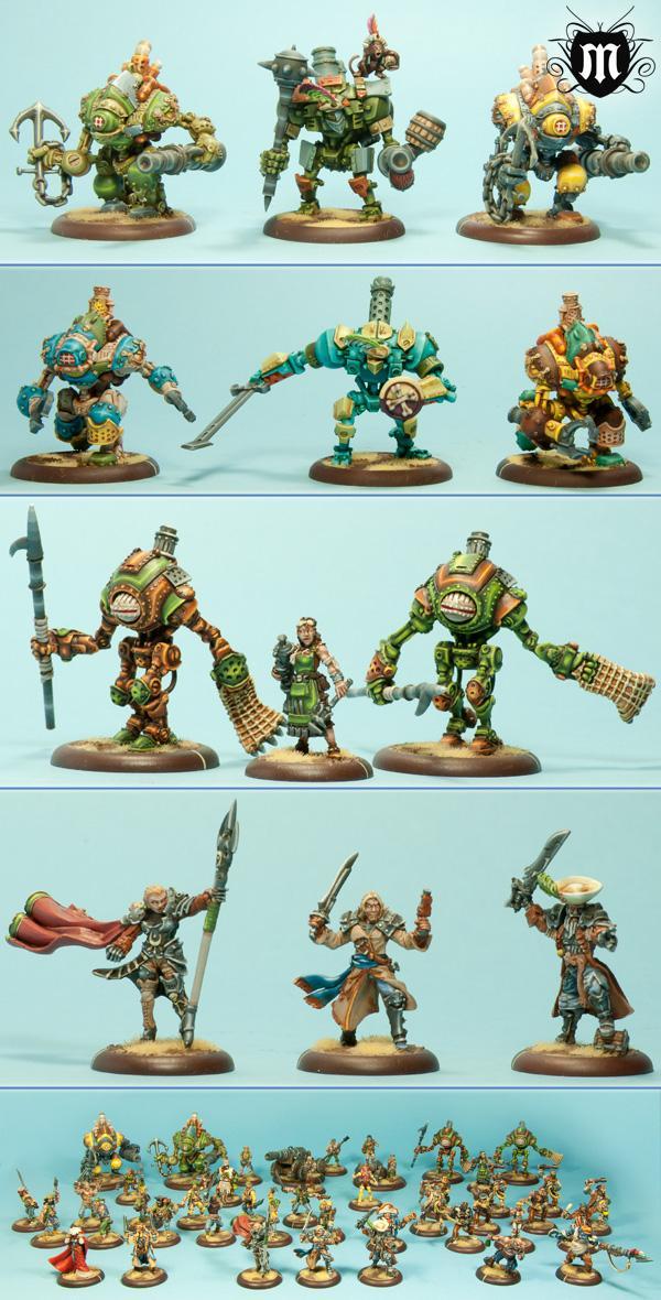 Mercenary, Warjack, Warmachine
